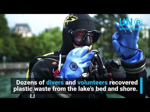 Race Against Plastic in Switzerland