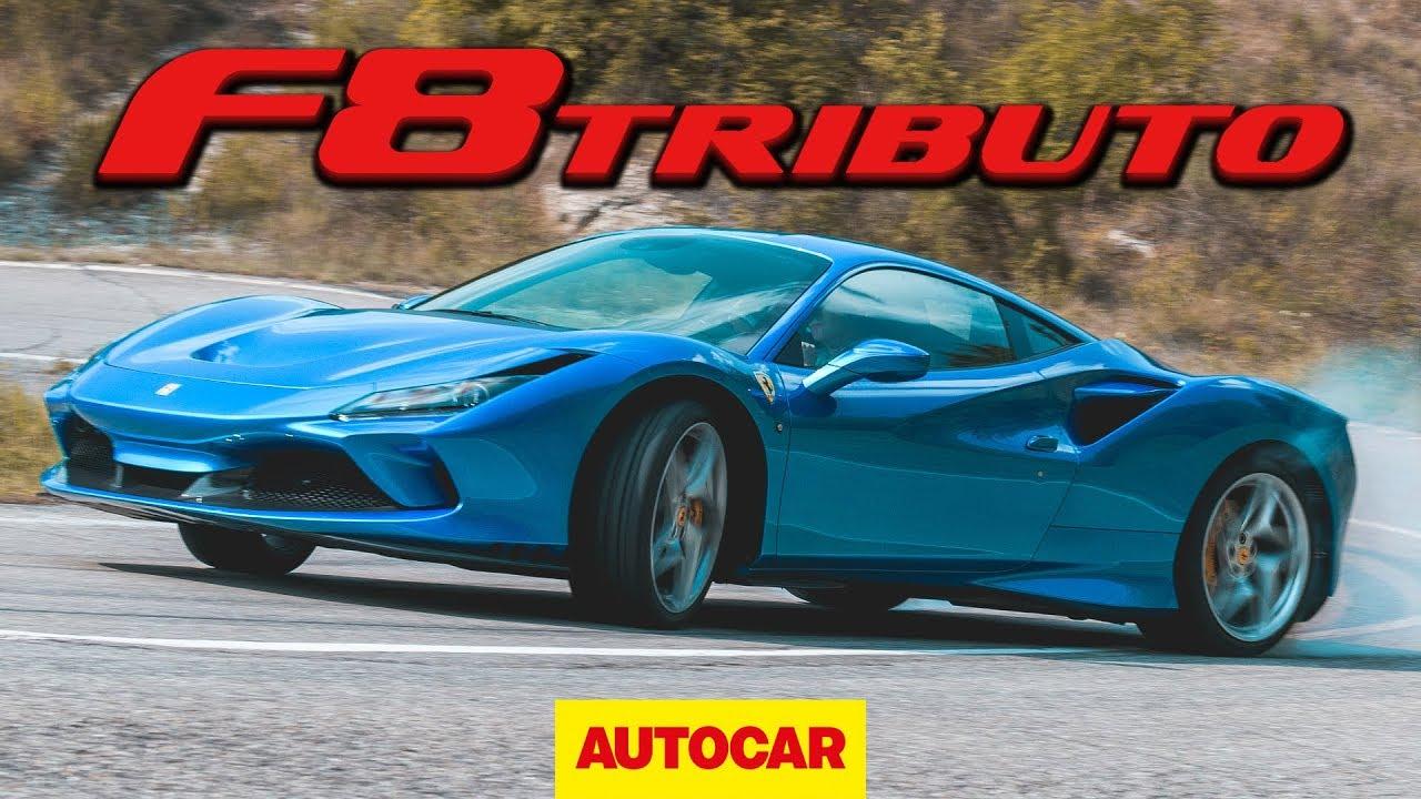 Ferrari F8 Tributo 2020 review - 710bhp V8 supercar on road and track | Autocar