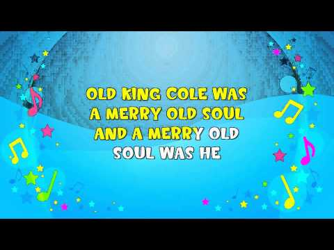 Old King Cole | Sing A Long | Marching Song | Nursery Rhyme | KiddieOK