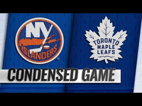 12/29/18 Condensed Game: Islanders @ Maple Leafs
