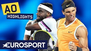 Rafael Nadal vs Frances Tiafoe Highlights | Australian Open 2019 Quarter-Finals