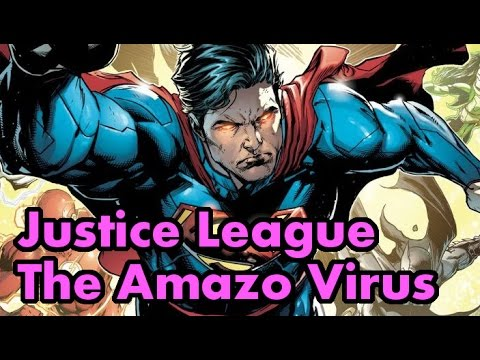 Justice League The Amazo Virus Complete Story