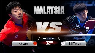 Ma Long vs Lin Yun-Ju | T2 Diamond Malaysia (Quarter Finals)
