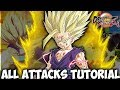 Dragon Ball FighterZ - Gohan Moveset and Controls (Tutorial)