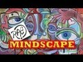 MINDSCAPE a Unique SPEED ART Funky abstract STREETART style LIVE painting by RAEART