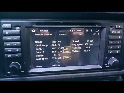 BMW E39/E38/E53 on-board computer IBUS Interfface and APP for Android multimedia systems
