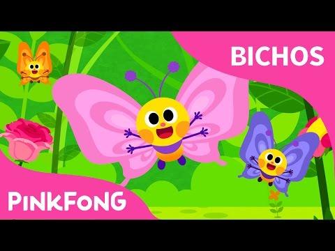 Vuelen Vuelen Mariposas | Bichos | Pinkfong Canciones Infantiles