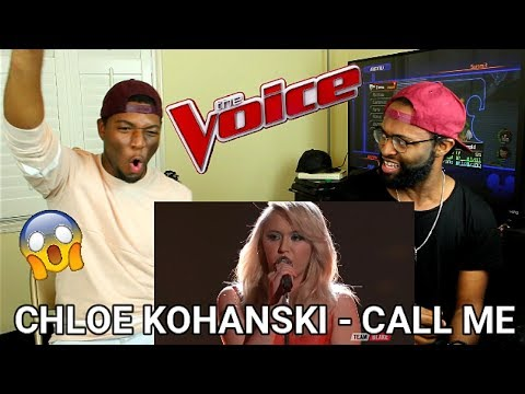 "The Voice 2017 Chloe Kohanski - Top 10: ""Call Me"" (REACTION)"