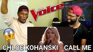 "The Voice 2017 Chloe Kohanski - Top 10: ""Call Me"" (REACTION)"