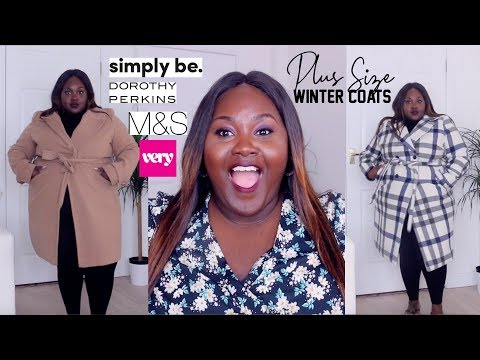 SIMPLY BE, DOROTHY PERKINS, VERY.CO.UK PLUS SIZE UK AND STYLISH WINTER COATS!