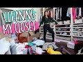 CLEANING OUT MY CLOSET!!