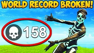 158 KILLS IN 1 GAME! *WORLD RECORD BROKEN* - Fortnite Funny Fails and WTF Moments! #352