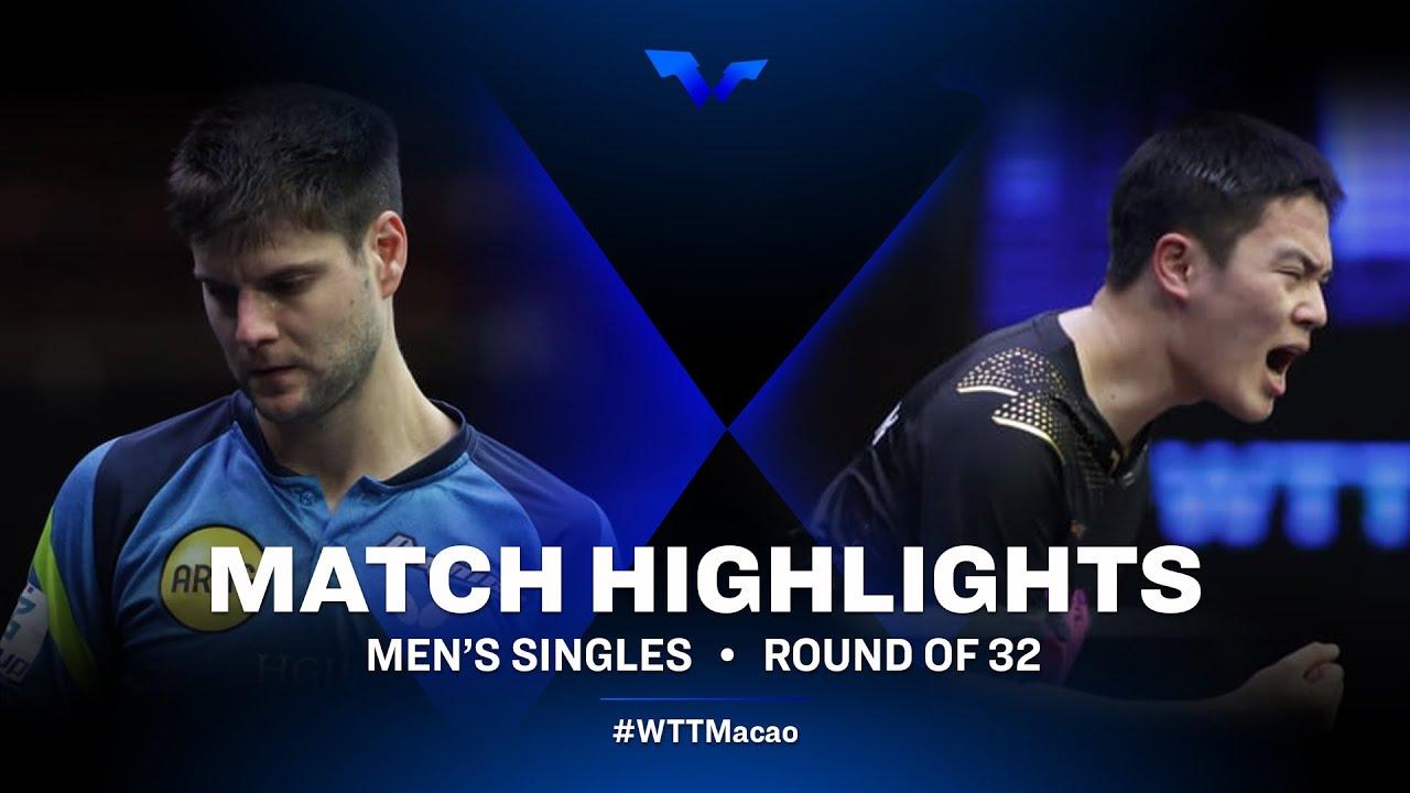 Download Dimitrij Ovtcharov vs Cho Seungmin | WTT Star Contender Doha 2021 | Men's Singles | Round of 32