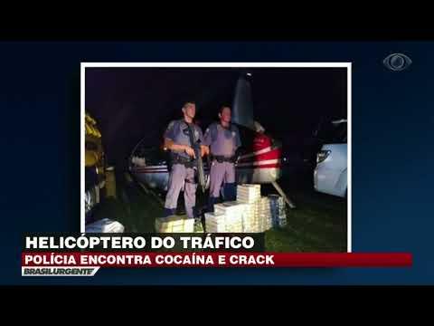 Helicóptero é Apreendido Com Cocaína E Crack No Paraná