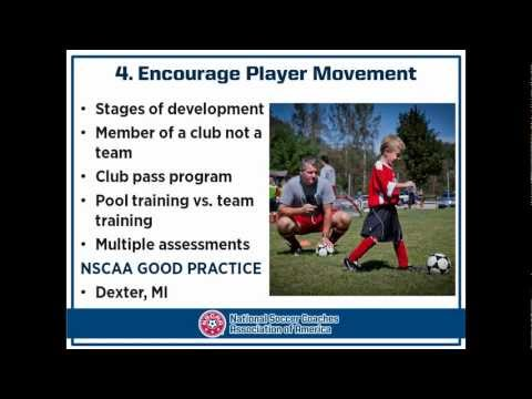 NSCAA - Best Practices in Youth Soccer Clubs - Part A (presented by David Newbery)