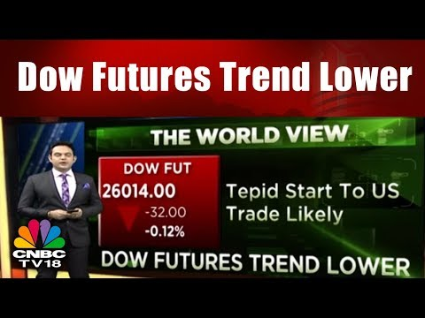Dow Futures Trend Lower || The World View || 22nd Jan 2018 || CNBC TV18