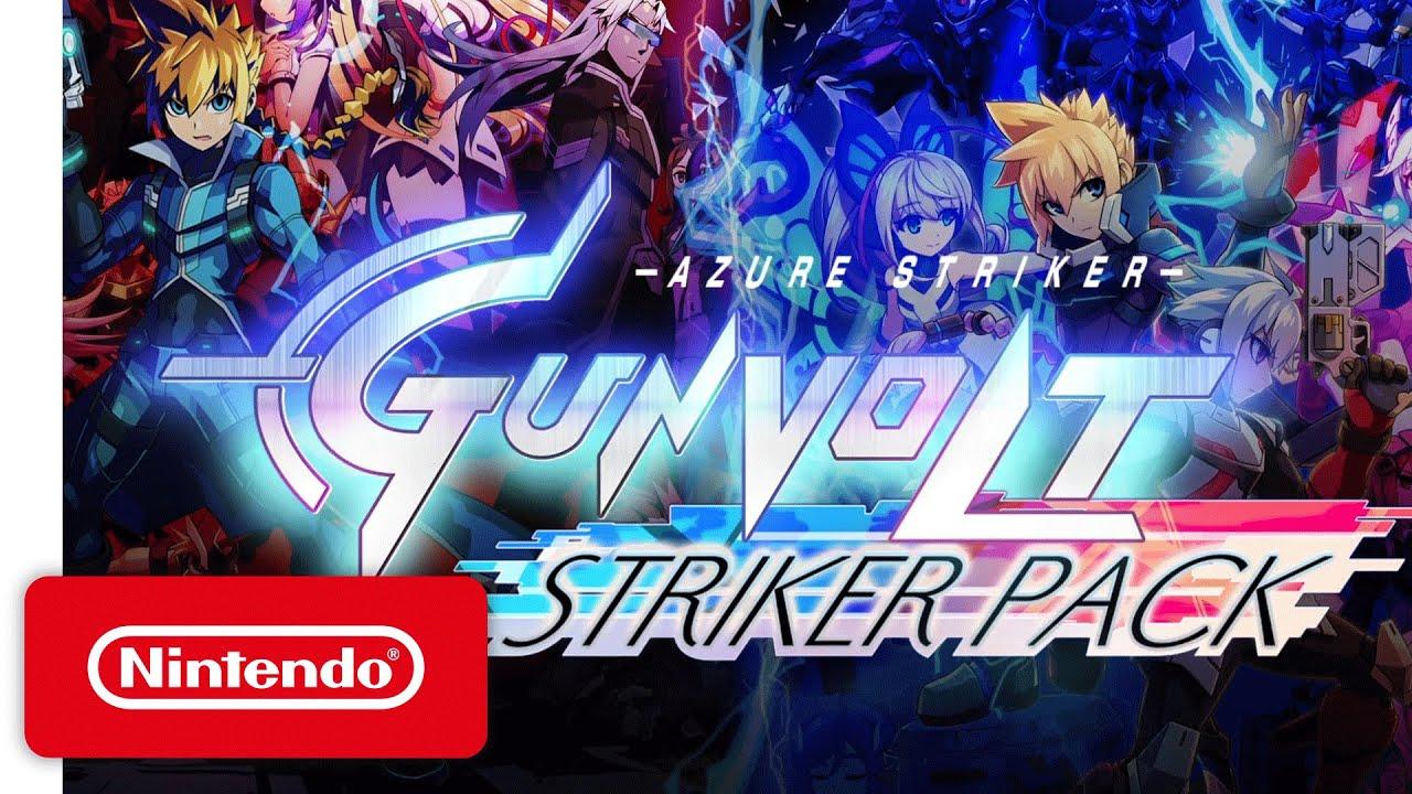 """Résultat de recherche d'images pour """"Azure Striker Gunvolt: Striker Pack"""""""