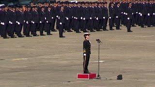 歌姫!!! 三宅3等海曹による国歌独唱!!! 航空自衛隊百里基地 [航空観閲式事前公開] thumbnail