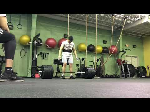 390lbs X 7 DEADLIFT | Ass To Grass Volume Squats.