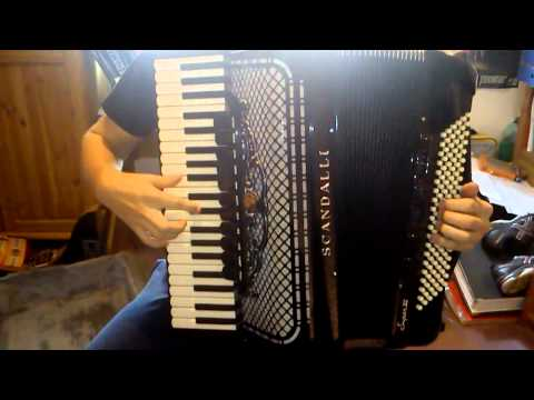Pirates of the Caribbean The Black Pearl on accordion + sheets
