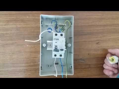 Подключение ДИФавтомата