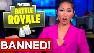 Fortnite has been BANNED in China!! *BREAKING NEWS*