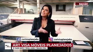 APRESENTADORA COMERCIAL - TV BALCÃO (ART VISA PLANEJADOS)