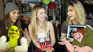 Canadian girls play DISNEY Would You Rather