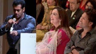 Salman Khan Bowls Over Sachin Tendulkar
