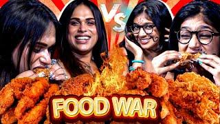 🔥Spicy: 3 Full Bucket Chicken Challenge   Milla Vs VJ Parvathy   Food war   Food challenge