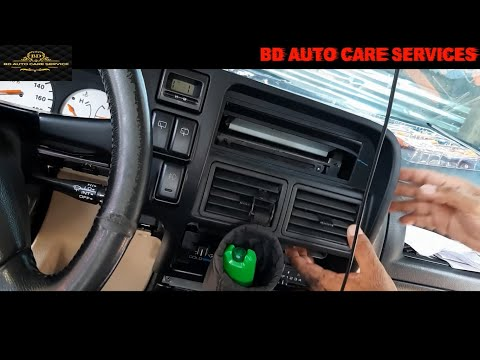 HOW TO REMOVE PANEL & INSTALL MP5 CAR STEREO ON ISUZU SPORTIVO P1