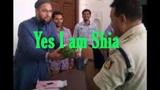 Asaduddin Owasi:Clips Must Watch  Yes I am Shia And Hussaini Gulam