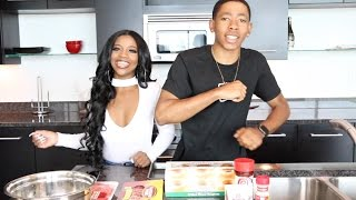 COOKING WITH DK4L | HOW TO MAKE A GLAZED DONUT BURGER