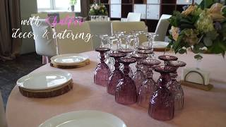 Wedding day by CHALFEI catering | Свадьба в лофте