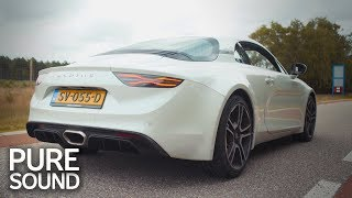 2018 Alpine A110 (252hp) - pure SOUND!
