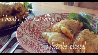 Simple recipe for delicious cabbage roll. how to make cabbage roll?