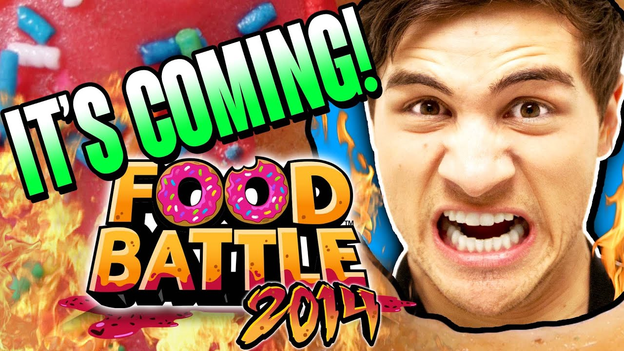 Food Battle 2014 Announcement Youtube