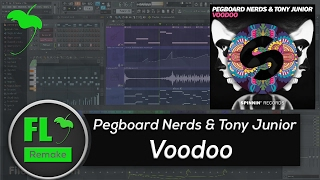 Pegboard Nerds & Tony Junior - Voodoo (FL Studio Remake + FLP)