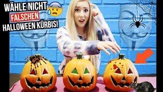 wähle NIEMALS um 3 UHR NACHTS den Falschen HALLOWEEN KÜRBIS aus CHALLENGE (Halloween PRANKS von GM)