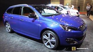 Video 2016 Peugeot 308 SW GT Line - Exterior and Interior Walkaround - 2015 Tokyo Motor Show download MP3, 3GP, MP4, WEBM, AVI, FLV Juli 2018