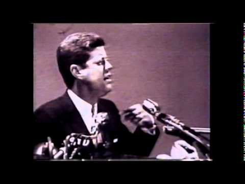 JFK Speech from 1960 Presidential Campaign