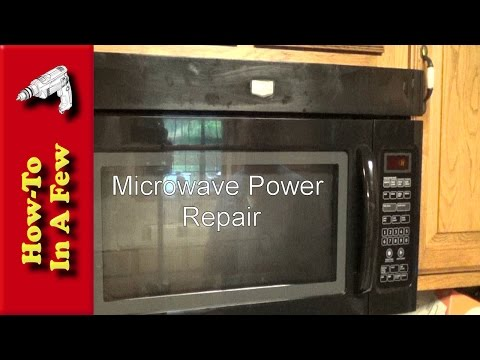 How To: Restoring Power to Your Dead Microwave - YouTube Ge Microwave Wes Ss Ss Schematic Diagram on