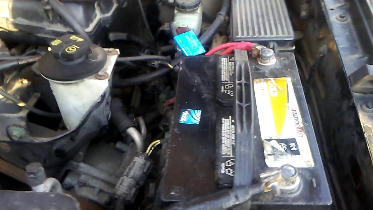 Ford Expedition Fuse Box 2002 Ford Explorer 4 0l Xls Crank No Start Youtube