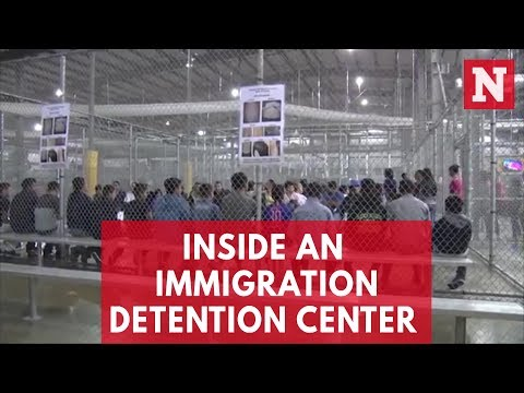 Border Patrol Releases Video Of Immigration Detention Center In McAllen, Texas