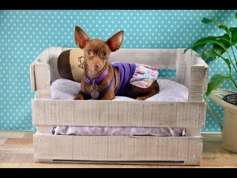 Craftolog a c mo hacer una cama para perro casera y - Como hacer una cama para perro ...