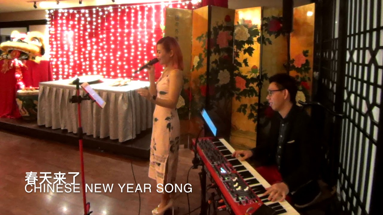 Live Band Singapore-Little Band SG-Chinese New Year Songs 新年歌曲-Tingzhi & Ian