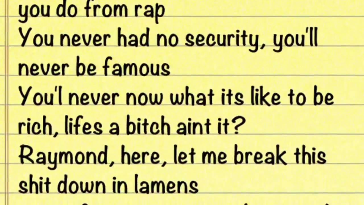 Eminem - Nail in the Coffin Lyrics - YouTube