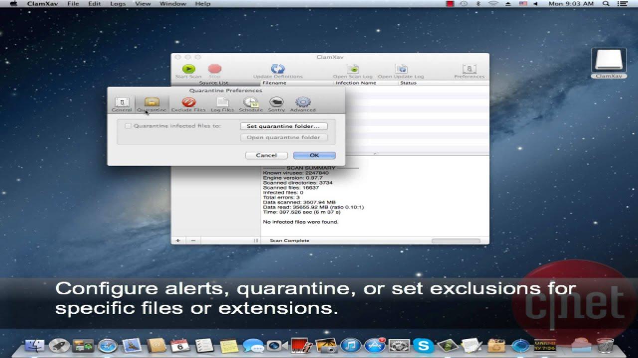 Apple virus protection