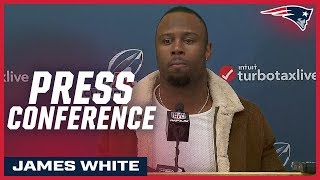 James White on AFC Championship victory over Chiefs: ''We do whatever it takes to get a win''