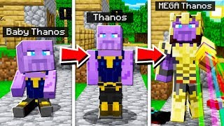 LIFE OF THANOS IN MINECRAFT!